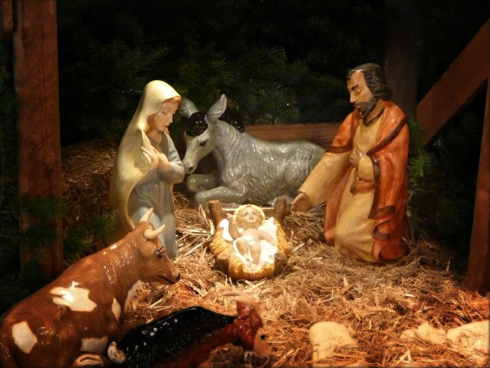 Traditional Blessing Of The Baby Jesus Figurines