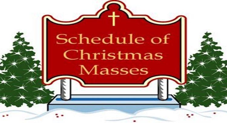 Christmas Mass Schedule 2017 – St  Thomas the Apostle